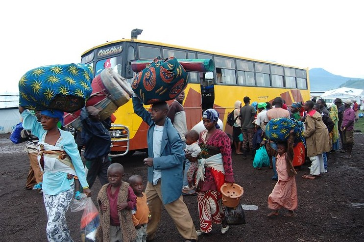 Refugees in transit