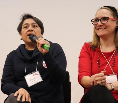 Damaris Velasquez and Maria Gonzalez at 2019 Annual Meeting