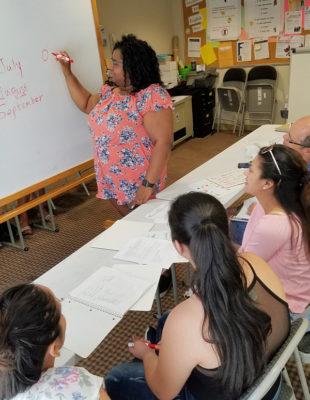 ESOL class teacher